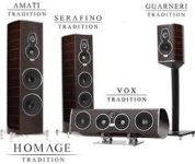 Sonus Faber Lilium and Homage Tradition